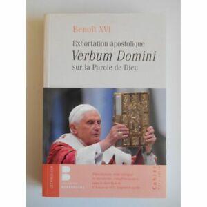 Exhortation apostolique Verbum Domini Benoit XVI / Collectif / Réf42241