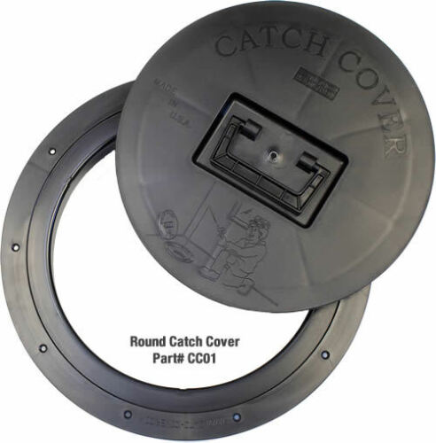 5 Pk CatchCover Round Trim Fish House Fishouse Hole Catch Cover Ice Fishing USA