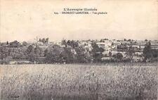CPA 63 BROMONT LAMOTHE VUE GENERALE