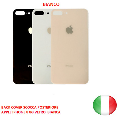 BACK COVER IPHONE 5C BIANCO