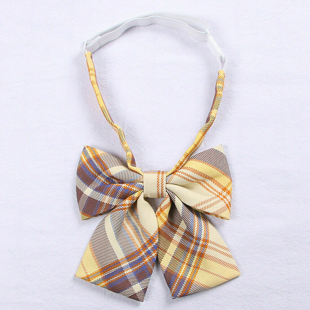 2x Girls JK Bow Tie Neck Ties Japanese School Uniform Lolita Preppy Cosplay Cute