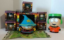 """The Stick of Truth Figures Set w/6"""" Grand Wizard Cartman and 6.5"""" Coin Bank Kyle"""