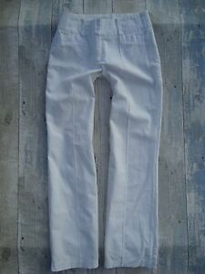 AWEAR-White-Linen-Relaxed-Trousers-size-8R