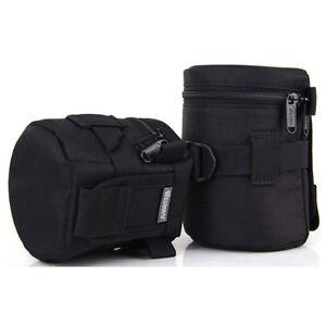 Waterproof DSLR Canon Nikon Camera Shoulder Lens Bag Case Padded Pouch Cover