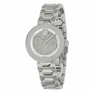 Movado 3600567 Women's Bold Silver Quartz Watch