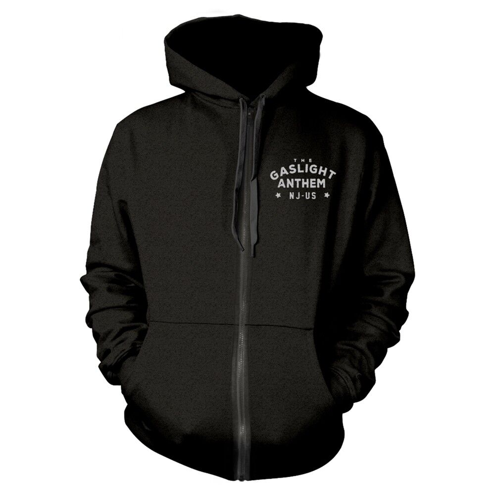 The Gaslight Anthem 'Boxing Gloves' Zip Hoodie - NEW