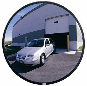 "26/"" D See All PLXO26 Circular Acrylic Heavy Duty Outdoor Convex Security Mirror"