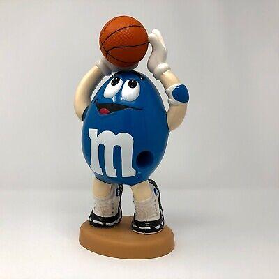 M /& M Blue Basetball Player Dispenser Advertising