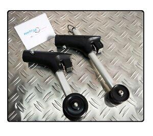 Kipp-Stuetze-Kippschutz-Rollstuhl-25mm-Kippsicher-Kippen-Sicherheits-Rad-Schutz