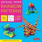 Origami Paper - Rainbow Patterns - 6  Size - 96 Sheets: (Tuttle Origami Paper) by Tuttle Publishing (Hardback, 2016)