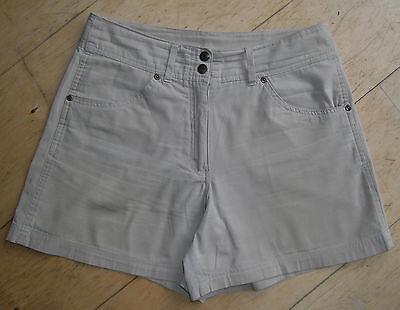* Top * Hot Pants Shorts Beige M 40