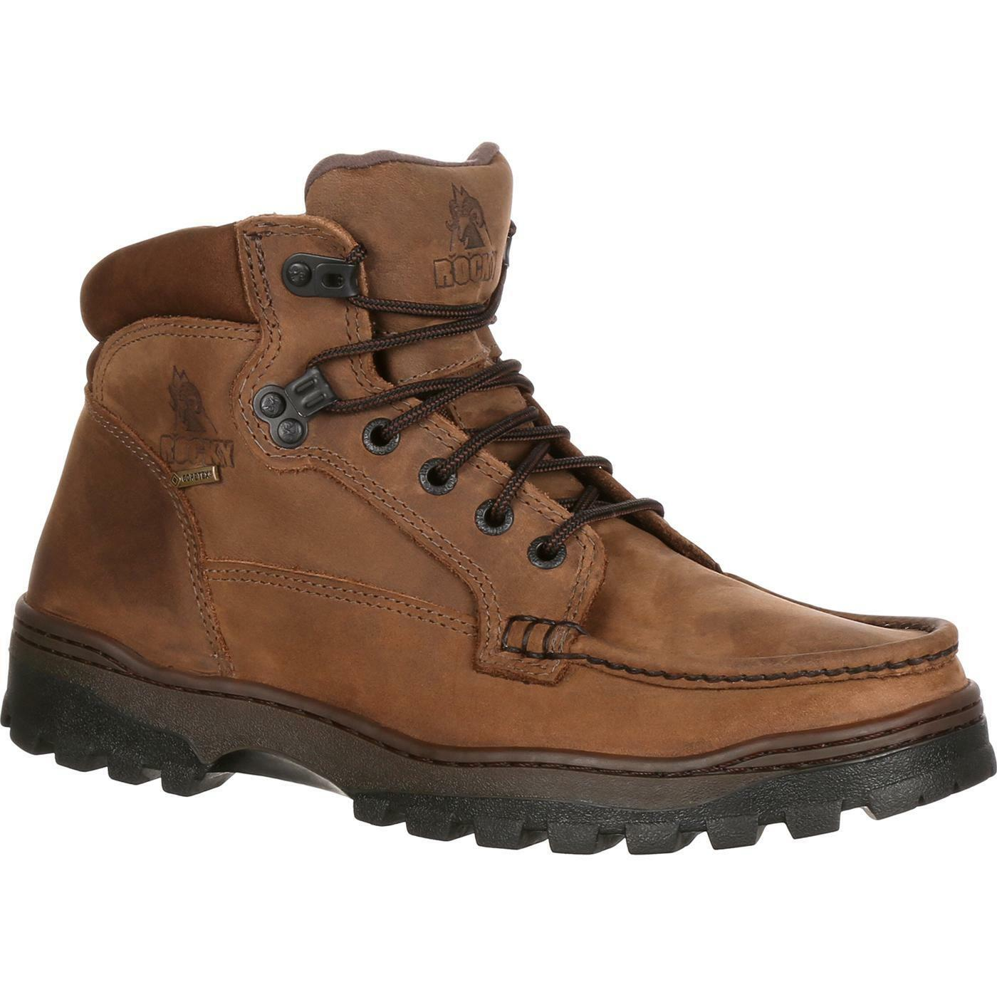 Men's Rocky Outback Gore-Tex Waterproof Hiker Boot Brown