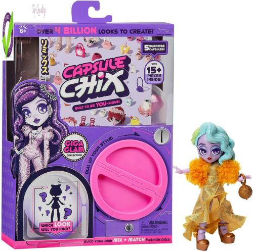 4.5 Inch Doll With Capsule Hine Unboxing And Capsule Chix Giga Glam Collection