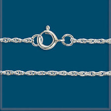 """Lot 2 Sterling SILVER 925 FINE 11R ROPE CHAINS 24"""""""