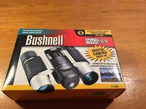 BUSHNELL 'IMAGEVIEW ~ #11-1025 ~ BINOCULAR WITH DIGITAL CAMERA ~ 10X25