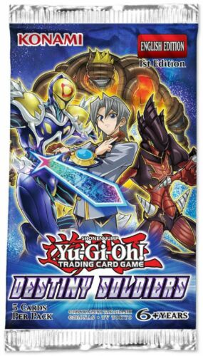 Destiny Draw DESO-EN014 Super Rare Yu-Gi-Oh Card 1st Edition English Mint New