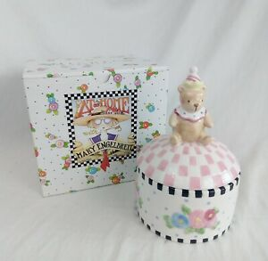 At-Home-with-MARY-ENGELBREIT-034-LullaBaby-034-Mini-Canister-Small-Bear-2000