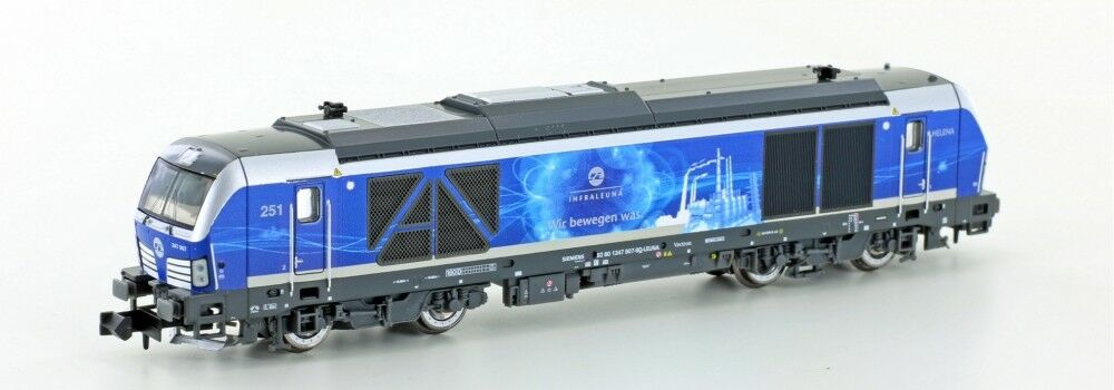 Hobbytrain 3104s DIGITAL ESU Sound BR 247 907 Vectron de Infraleuna ep.6 Limit