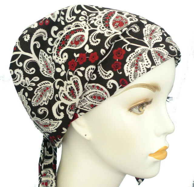 Floral Chemo Cancer Hat Alopecia Cotton Hairloss Scarf Turban Head Wrap Covering