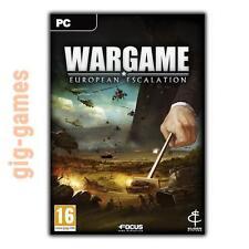 Wargame European Escalation PC spiel Steam Download Link DE/EU/USA Key Code