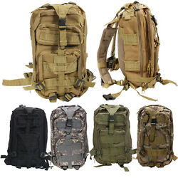 Outdoor Neutral Adjustable Military Tactic Backpack Rucksacks Hiking Travel