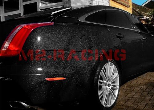 """*60/""""x300/"""" High Gloss Glitter Black Sparkle Car Vinyl Wrap Sticker Decal Sheet"""