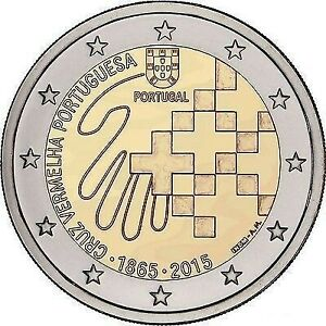 2 Euro PORTUGAL 2015 - Croix-Rouge portugaise