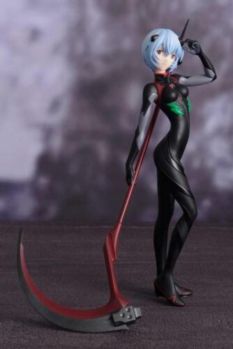 Anime Neon Genesis Evangelion EVA Rei Ayanami Black Plugsuit PVC Figure No Box