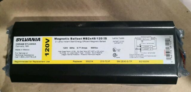 REPLACEMENT BALLAST FOR OSRAM SYLVANIA QT2X32//120IS QT2X32//120IS-SC 120V