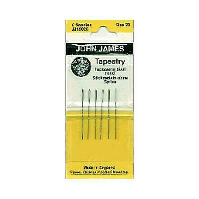 Colonial Needle JJ198-28 Tapestry Hand Needles-Size 28 5 Pack