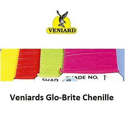 veniard suede chenille no 3 crimson