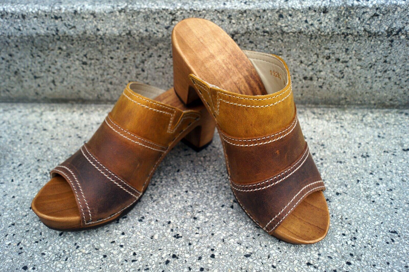 Woody Sandalias Mujer Wood-O-Flex Elly Tobacca-Amber