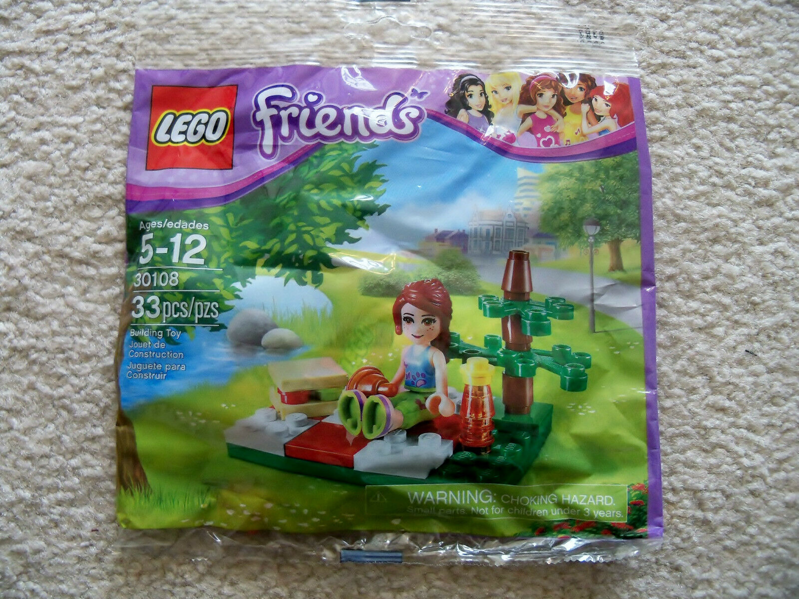 LEGO Friends - Rare - Lot Of 10 - Summer Picnic 30108 - New & Sealed