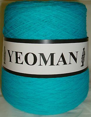 Yeoman Cashmilon Acrylic Yarn 4ply 500g Hand / Knitting Machine Choice of Colour