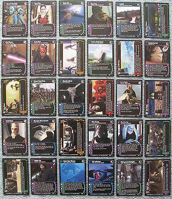 TPM Star Wars TCG The Phantom Menace Rare Cards