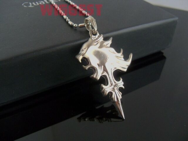 Final fantasy viii 8 griever squall leonhart lion head cosplay final fantasy viii 8 griever squall leonhart lion head cosplay pendant necklace mozeypictures Image collections