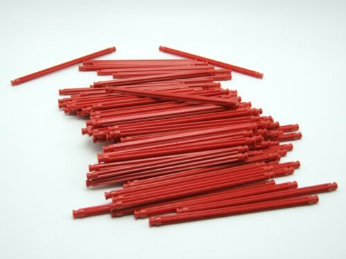 100 K/'nex Rod 128mm Red Replacement Part Piece Plastic 90954