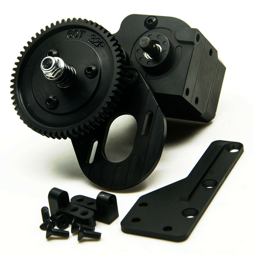 Aluminum AX2 2 2 2 Speed Transmission for RC 1 10 RC4WD Axial SCX10 Wraith Honcho lw 9e7079