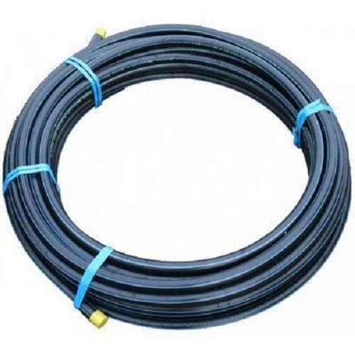 NEUF diverses longueurs,25 mts,50 mts,100 m,150 mts Noir 25mm mm MDPE pipe,12 BAR