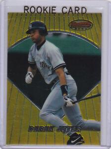 Details About Derek Jeter Rookie Card New York Yankees Bowmans Best Baseball Mlb Rc