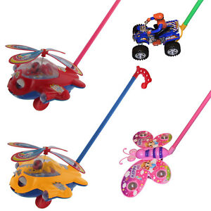 Schiebespielze<wbr/>ug Schiebelaufrad Kleinkind Spielzeug Schmetterling Quad Flugzeug