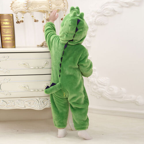 New Deluxe Toddler Fancy Dress Party Jungle Animal Costumes romper 0-24months