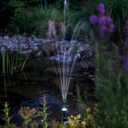 batterie solaire pompe filtre jardin étang Esotec 101073 Solaire étang filtre set 20//630