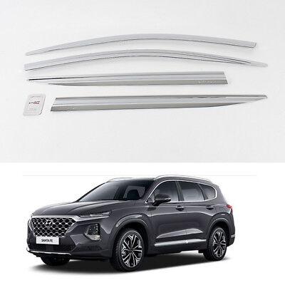Fits 2012-2017 Hyundai Santa Fe Vent Window Visors Rain Guards Sun Shades APU