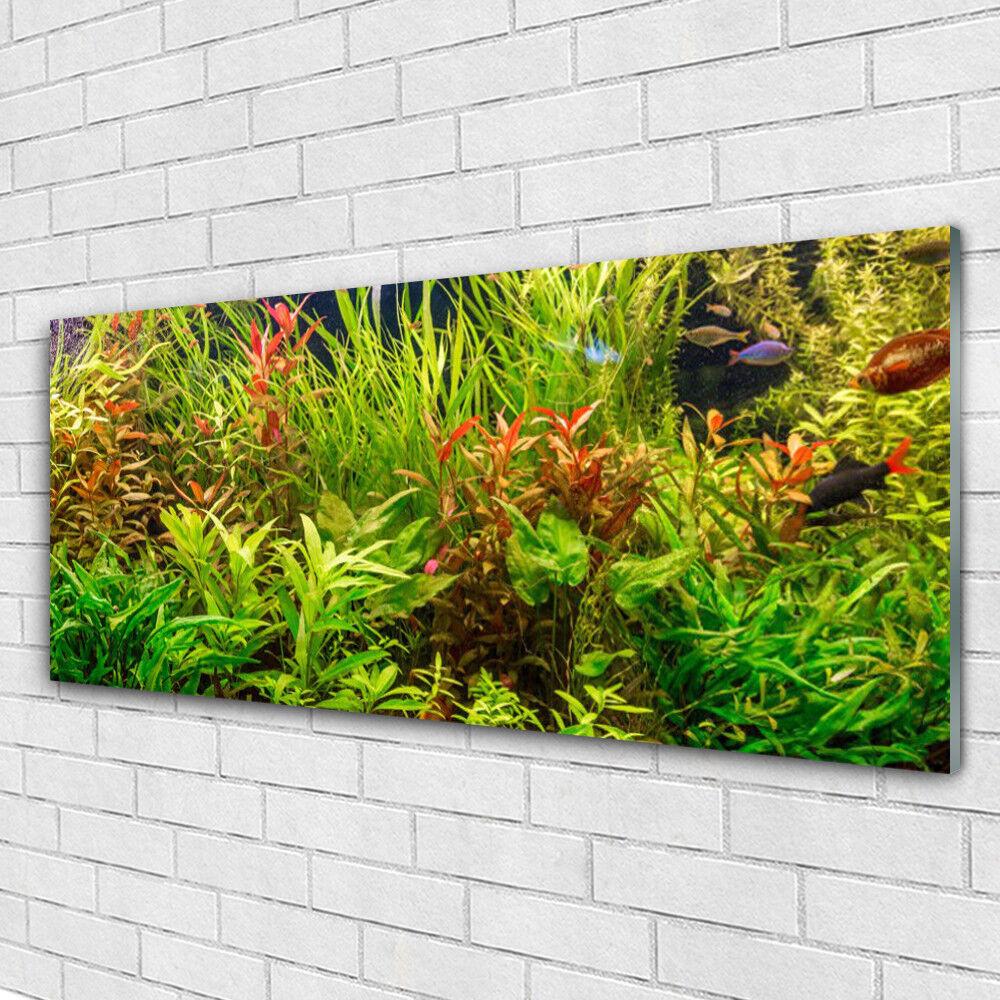 Acrylglasbilder Wandbilder aus Plexiglas® 125x50 Blattpflanzen Pflanzen