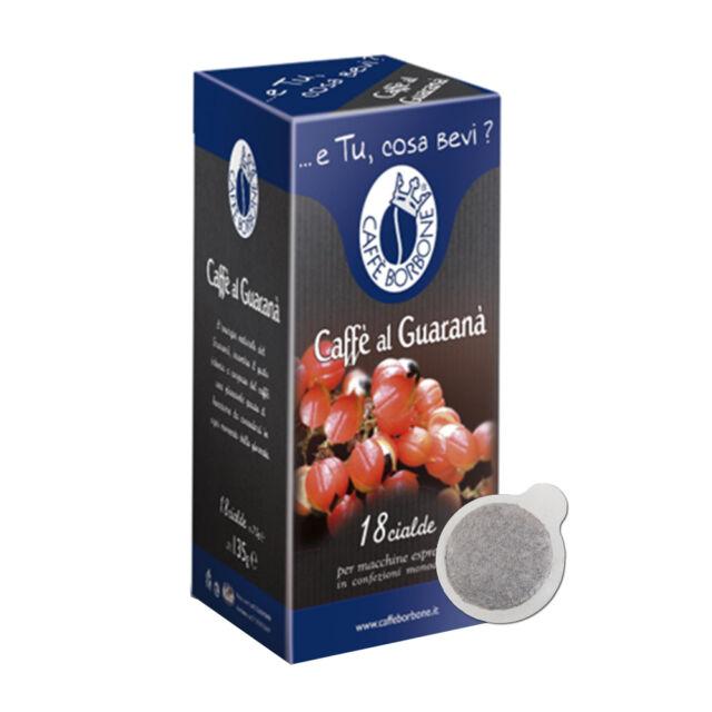 72 CIALDE CAFFE' BORBONE MISCELA CAFFE' AL GUARANA' ESE 44 MM