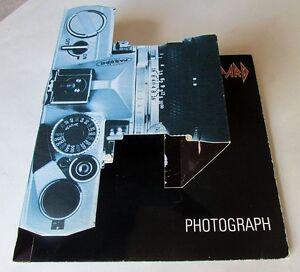 Details about DEF LEPPARD PHOTOGRAPH Original