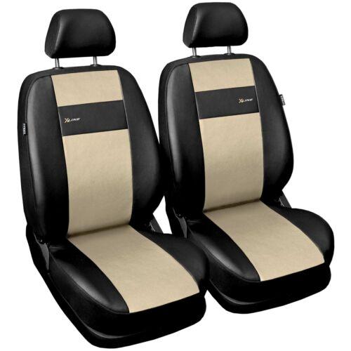 Universal Autositzbezüge für Skoda Octavia 1+1 Vordersitze Beige Sitzbezüge Auto