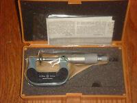 Mitutoyo 123-101 Disc Micrometer 0-25mm 0.01mm