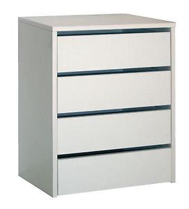 Cajonera para armario con 4 cajones mueble auxiliar para for Armario blanco carrefour